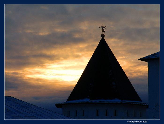 "фото ""Русское небо Звенигорода"" метки: путешествия,"