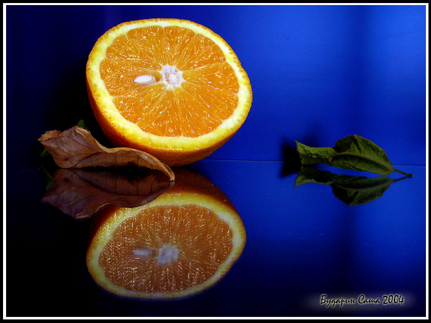 "фото ""Апельсин"" метки: натюрморт,"