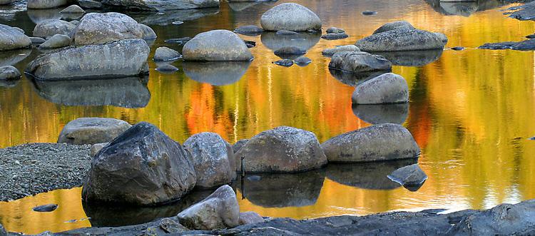 "фото ""burning water - autumn color"" метки: природа,"