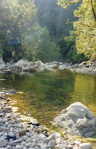 """фото """"Ibrahim River"""" метки: пейзаж, вода, горы"""