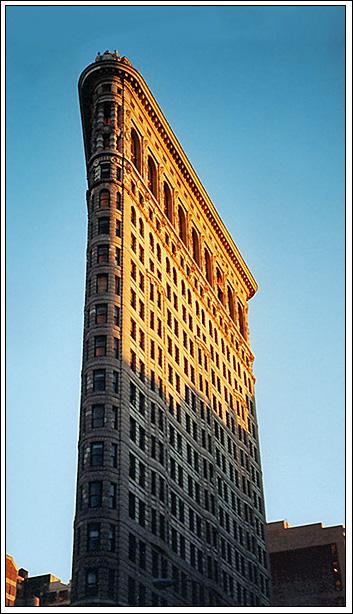 "фото ""Flatiron Building"" метки: архитектура, пейзаж,"