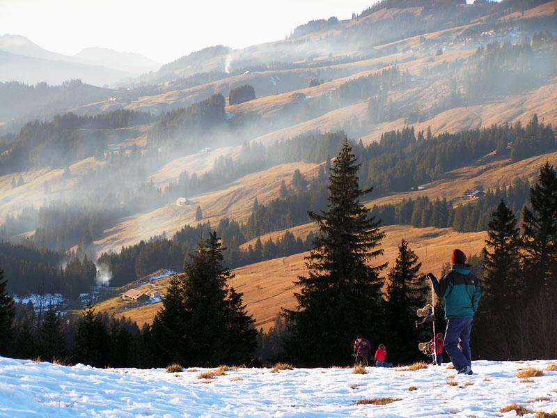 """фото """"Открытие лыжного сезона"""" метки: пейзаж, горы"""