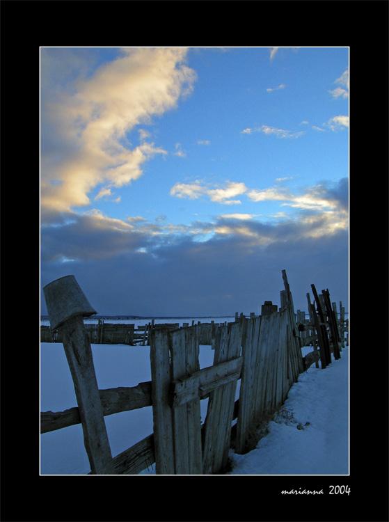 """фото """"Старое ведро"""" метки: разное, пейзаж, зима"""