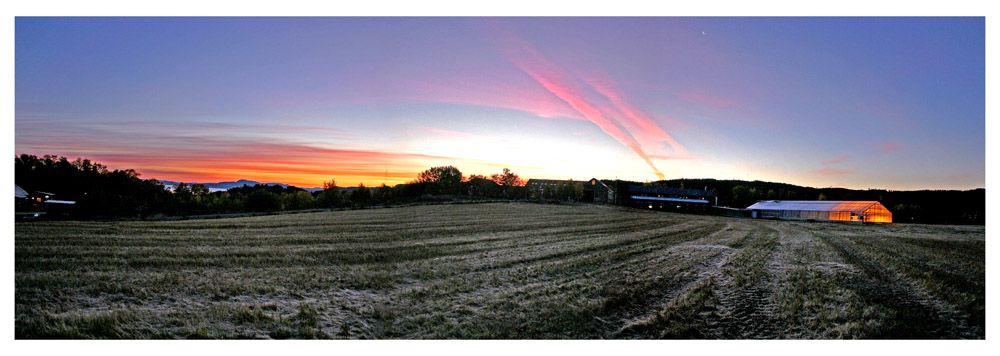 """фото """"Sunrises after Frost night"""" метки: пейзаж, закат"""