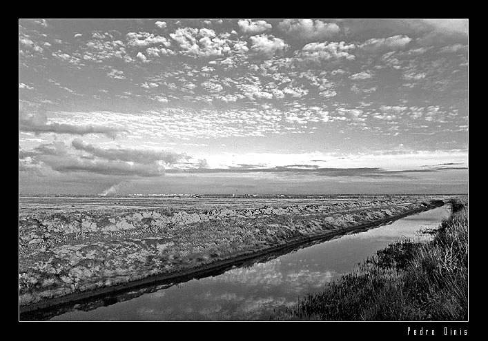 "photo ""Water way"" tags: landscape, clouds"