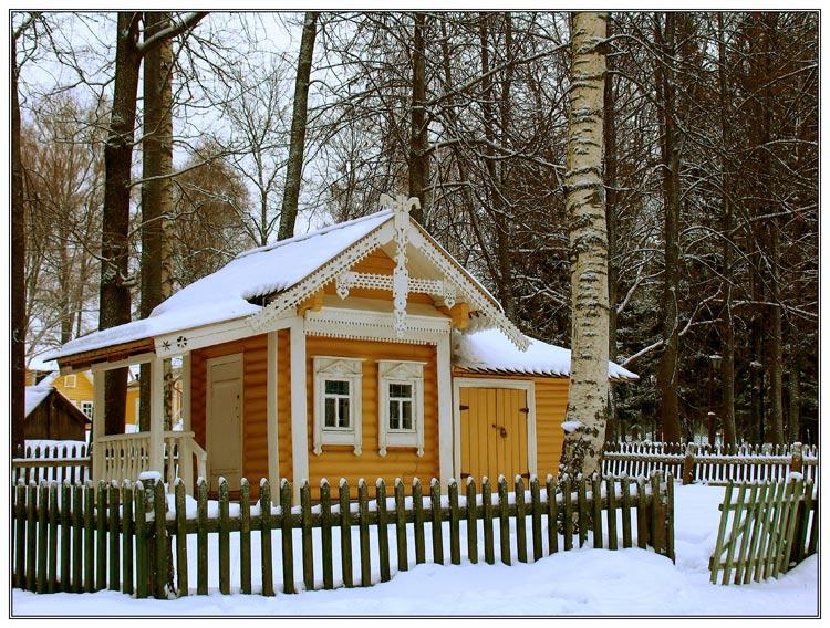 """фото """"Детский домик"""" метки: пейзаж, зима"""