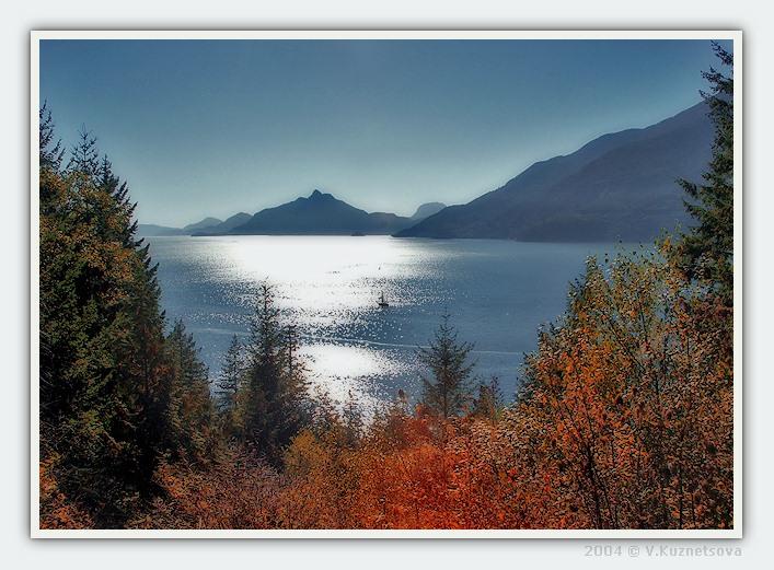 """фото """"**---**"""" метки: пейзаж, вода, горы"""