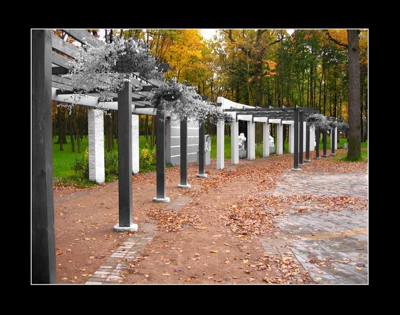 """фото """"Autumn Sketch. #25"""" метки: пейзаж, архитектура, осень"""