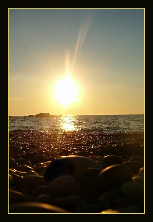 """фото """"..Sun n` Rocks.."""" метки: пейзаж, закат"""