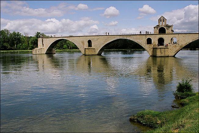 """фото """"Авиньонский мост"""" метки: разное, пейзаж, вода"""