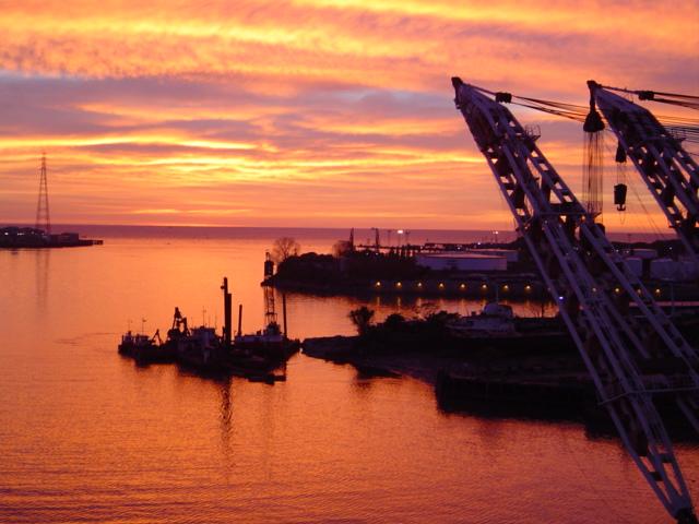 "фото ""sunrise at buenos aires"" метки: пейзаж, закат"