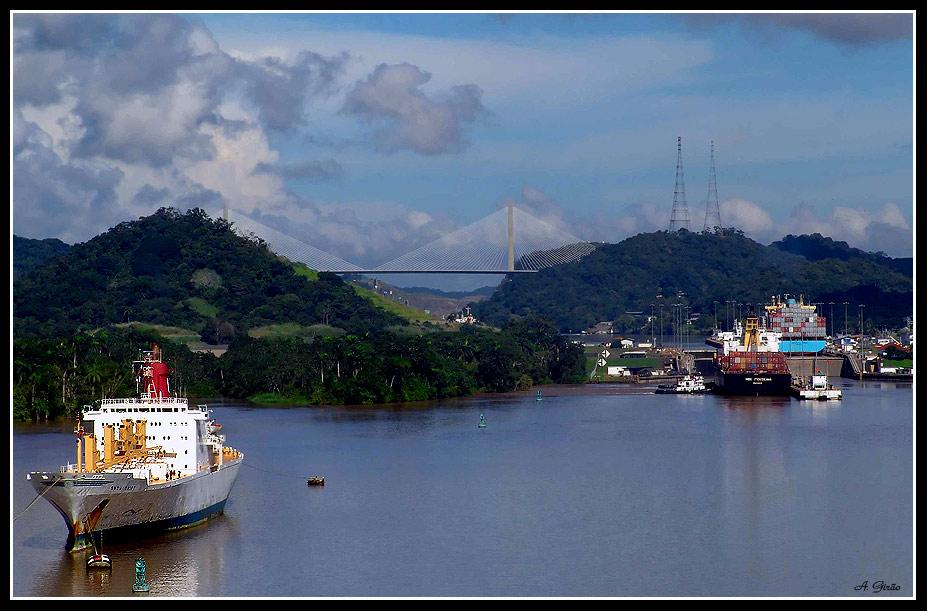 """фото """"Panama Canal #2"""" метки: путешествия, репортаж,"""