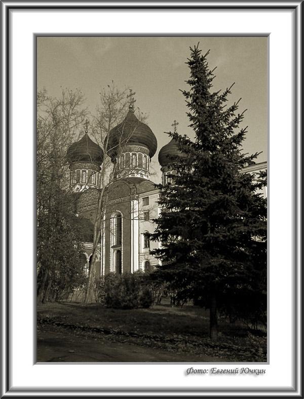 """фото """"Покровский собор"""" метки: архитектура, черно-белые, пейзаж,"""