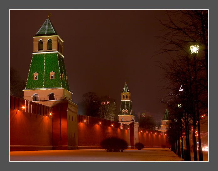 "фото ""Moscow night 3"" метки: архитектура, пейзаж, ночь"