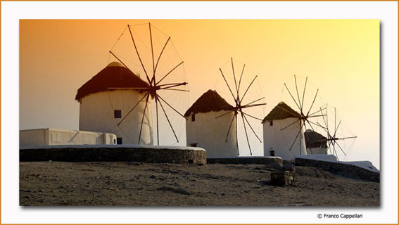"фото ""Flour mills to wind - Mikonos"" метки: разное, путешествия, Европа"
