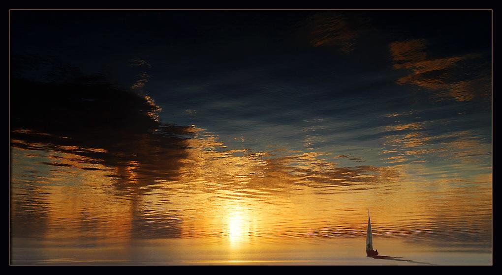 """фото """"Поверхностные эмоции (1)"""" метки: пейзаж, закат"""