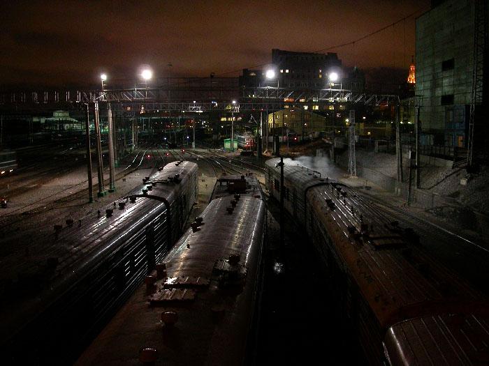 """фото """"Вокзал"""" метки: архитектура, пейзаж, зима"""