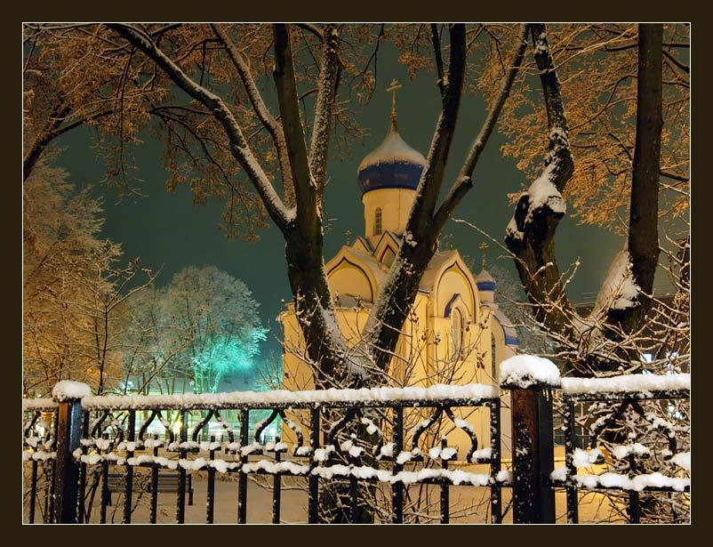"""фото """"Перед Рождеством"""" метки: архитектура, пейзаж, зима"""