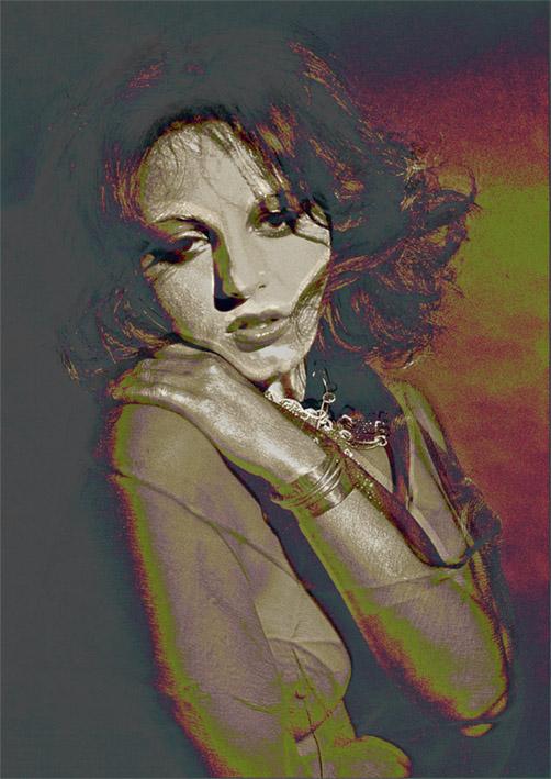 """фото """"Sensuality"""" метки: фотомонтаж, портрет, женщина"""
