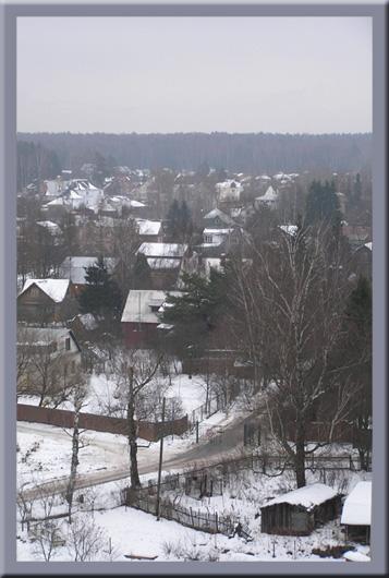 """фото """"Просто унылое утро"""" метки: пейзаж, природа, зима"""
