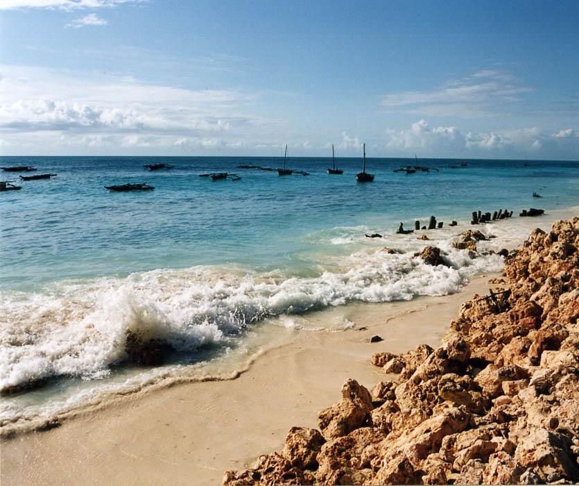 "фото ""На рейде рыбацкой деревушки"" метки: пейзаж, путешествия, Африка, вода"