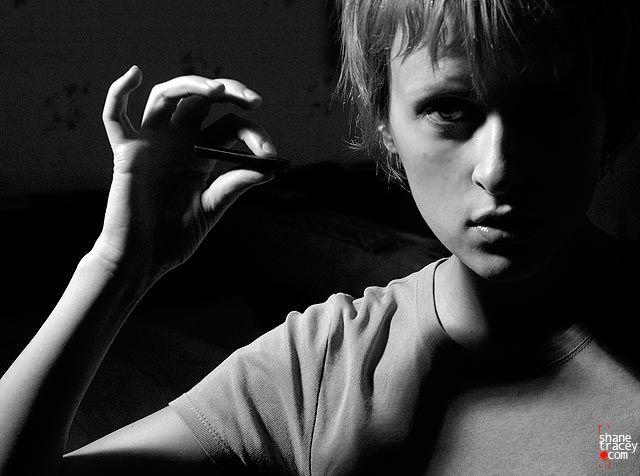 """фото """"howtomakeyourselfvisible"""" метки: черно-белые, портрет, женщина"""