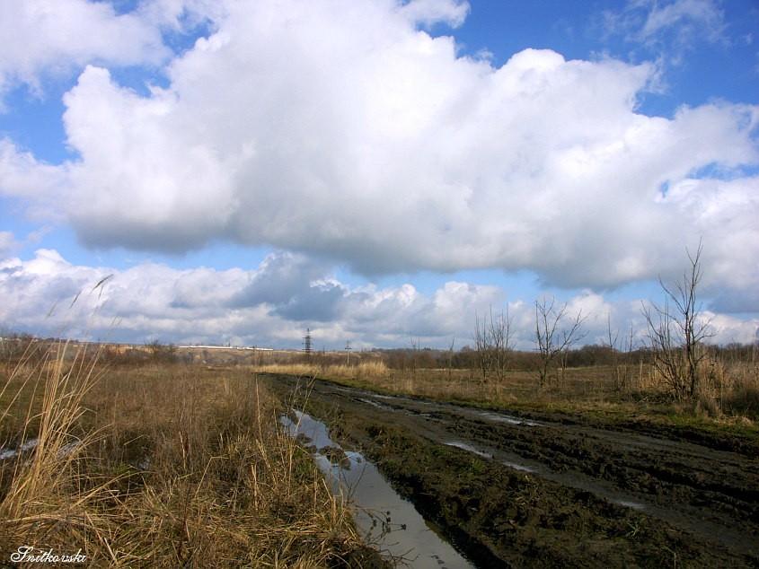 """фото """"Дорога к Эйфелевой башне"""" метки: пейзаж, юмор, облака"""