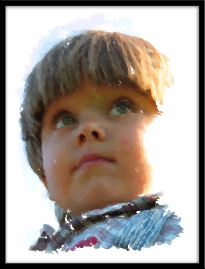 "фото ""Рисунок1"" метки: портрет, фотомонтаж, дети"