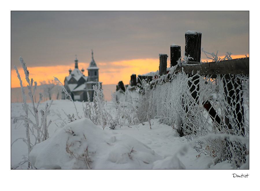 "фото ""Барабаново"" метки: пейзаж, зима"