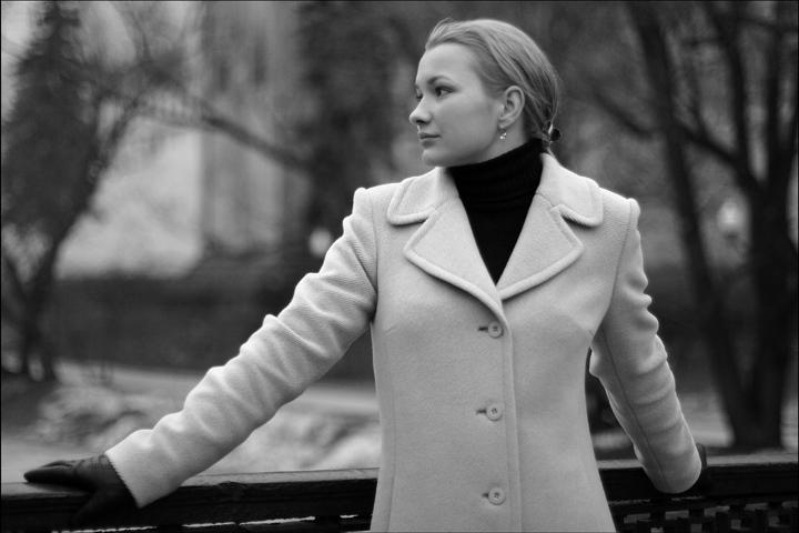 """фото """"Вера 4"""" метки: портрет, черно-белые, женщина"""