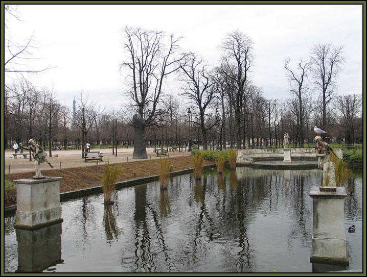 "фото ""Сад Тюилери"" метки: пейзаж, путешествия, Европа, вода"