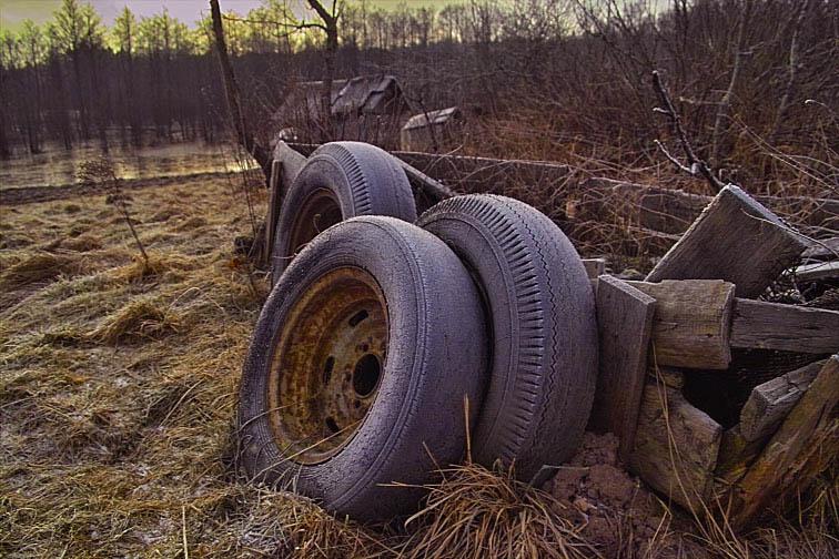 """фото """"Old tyres"""" метки: разное,"""