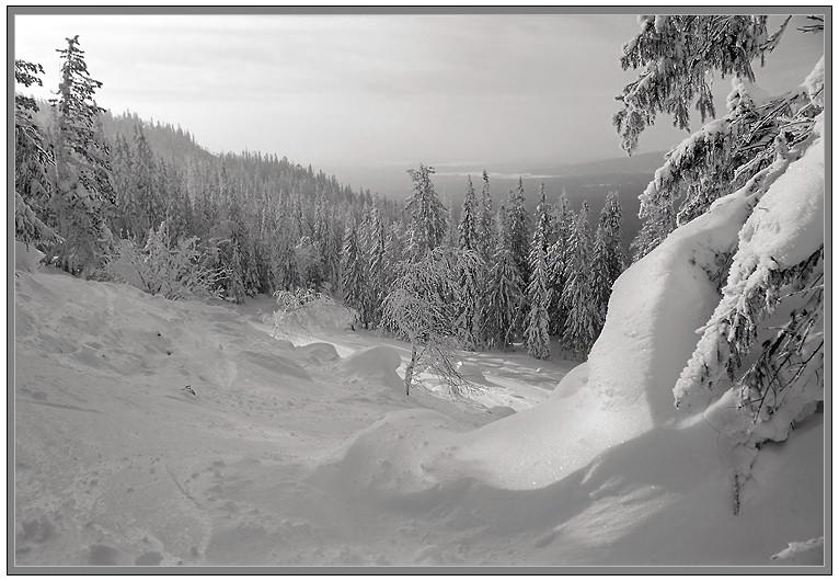 """фото """"На россыпи I"""" метки: пейзаж, горы, зима"""