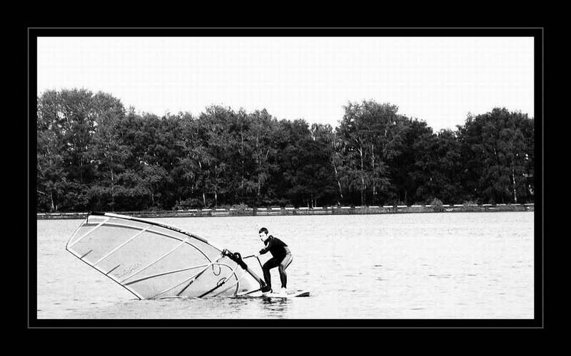 """фото """"El deslizamiento..."""" метки: черно-белые, спорт,"""