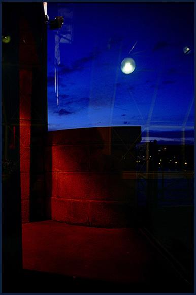 "фото ""Московская мозаика - окно и мост."" метки: архитектура, абстракция, пейзаж,"