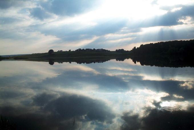 """фото """"""""Немного солнца в холодной воде..."""""""" метки: пейзаж, вода"""
