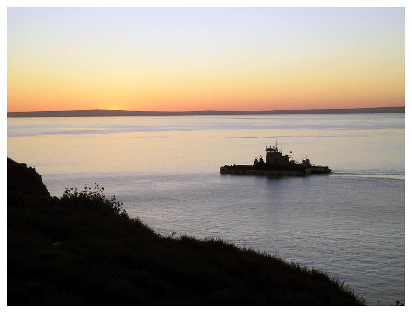 """фото """"Домой!"""" метки: пейзаж, вода, закат"""