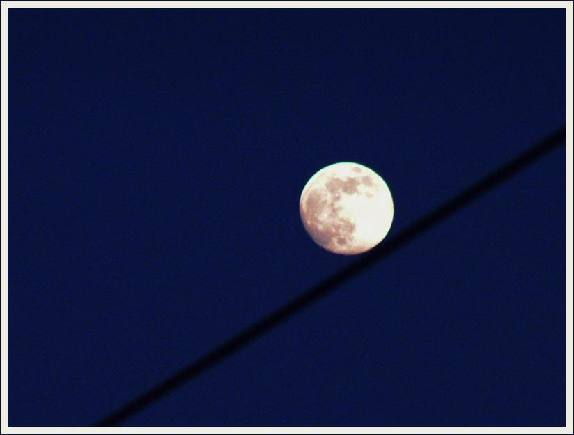 """фото """"Канатоходец или Сизифов Труд :)"""" метки: пейзаж, ночь"""