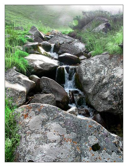 """фото """"Свет ручья"""" метки: пейзаж, вода, горы"""