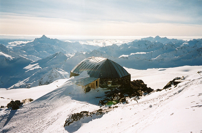 """фото """"Приют 11-ти, Эльбрус"""" метки: пейзаж, путешествия, Европа, горы"""
