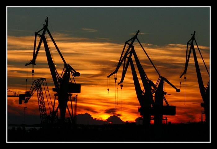 """фото """"giants"""" метки: пейзаж, закат"""