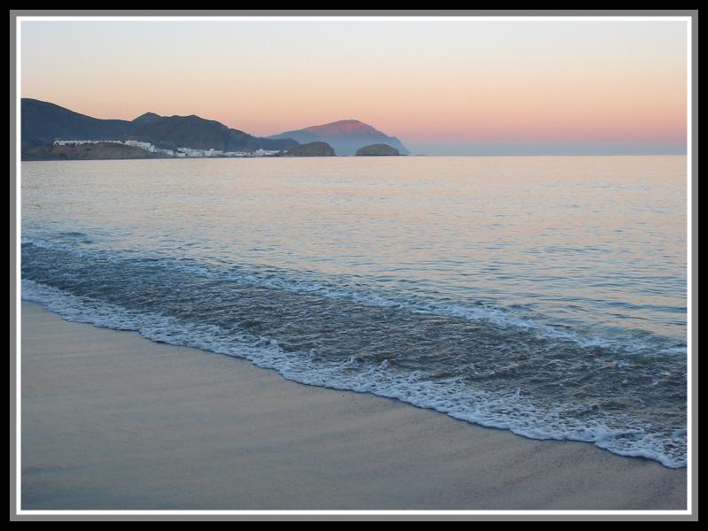 """фото """"Cabo de Gata"""" метки: пейзаж, вода, горы"""