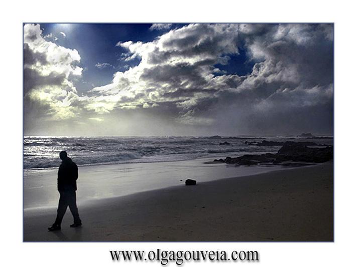 """фото """"Sea Side Walking"""" метки: пейзаж, вода, зима"""