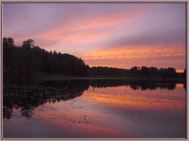 """фото """"Линии (6)"""" метки: пейзаж, закат"""