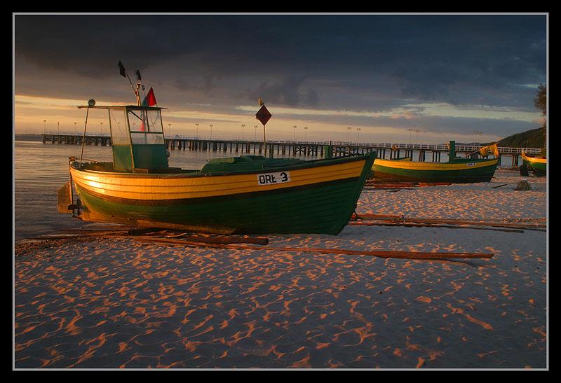 "фото ""Sunrise on the beach"" метки: пейзаж, вода, закат"