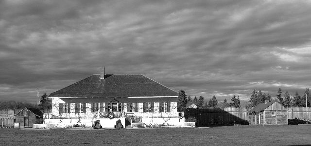 "фото ""Chief Proctors House at Fort Vancouver"" метки: разное,"