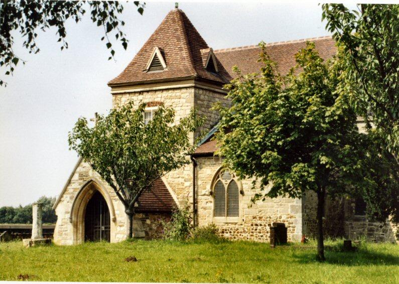 """фото """"Saxon Church"""" метки: пейзаж, лето"""