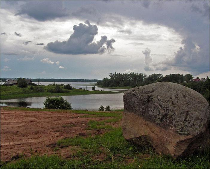 """фото """"Прибытие небесного корабля"""" метки: пейзаж, облака"""