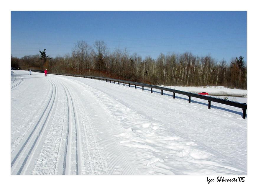 "фото ""Tracers"" метки: пейзаж, зима"