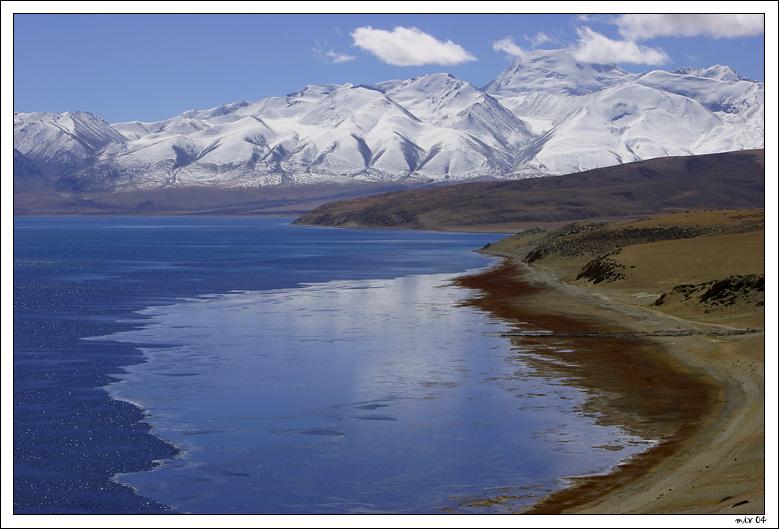 """фото """"Священное озеро"""" метки: путешествия, пейзаж, Азия, горы"""